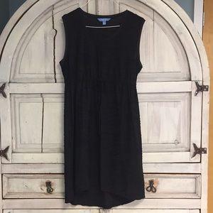 Dresses & Skirts - Simply Vera Wang Drawstring Sleeveless Black Dress